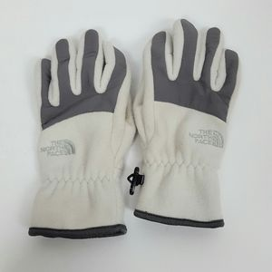 THE NORTH FACE Gloves white Gray Womens Large